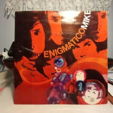 Discos de vinilo: LP MIKE KENNEDY ( LOS BRAVOS ): ENIGMATICO MIKE ( CONTIENE LA LLUVIA + 11, ORIGINAL DE 1969. Lote 247695670