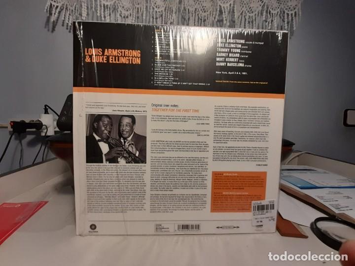 Discos de vinilo: LP LOUIS ARMSTRONG & DUKE ELLINGTON : THE GREAT SUMMIT ( PURE VIRGIN VINYL 180 GRAMS ) - Foto 2 - 247696955
