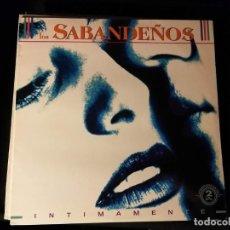 Discos de vinilo: DISCO DOBLE LP -LOS SABANDEÑOS-INTIMAMENTE -AÑO 1991. Lote 247706915