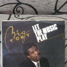 Discos de vinilo: BIG TONY - LET THE MUSIC PLAY. Lote 247708615
