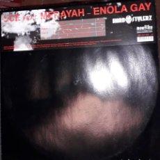 "Discos de vinilo: E.P. 12"" 45 RPM - LCE FEAT. MERAYAH - ENOLA GAY (2007 OMD COVER). Lote 247744920"