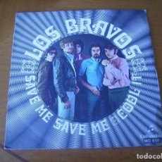 Discos de vinilo: 7'' : LOS BRAVOS : ED SPAIN 45 RPM EX. Lote 247757335