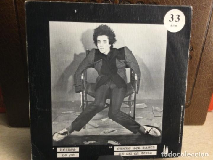 Discos de vinilo: PARÁLISIS PERMANENTE - QUIERO SER SANTA + HOJA INTERIOR - SINGLE 1982- ( 33 R.P.M. ) - Foto 2 - 247772920