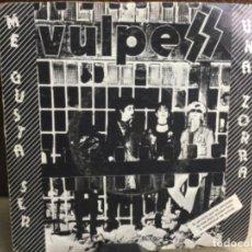 Disques de vinyle: VULPESS - ME GUSTA SER UNA ZORRA - DOS ROMBOS 1983 - ( 45 R.P.M.) PROMOCIONAL. Lote 247776710