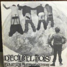 Disques de vinyle: DECIBELIOS - PALETAS PUTREFACTOS -PRODUCCIONES DRO1982 - ( 45 R.P.M.). Lote 247778980