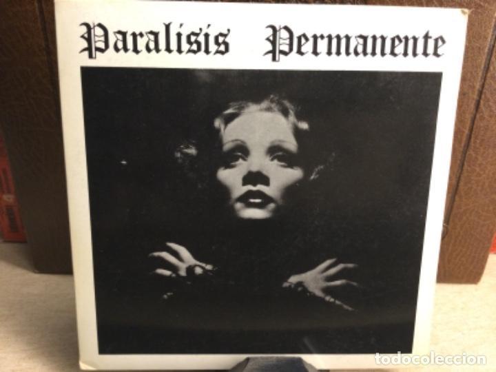 PARALISIS PERMANENTE --NACIDOS PARA DOMINAR SANGRE- TRES CIPRESES- MADRID- 1983 - ( 45 R.P.M.) (Música - Discos - Singles Vinilo - Punk - Hard Core)
