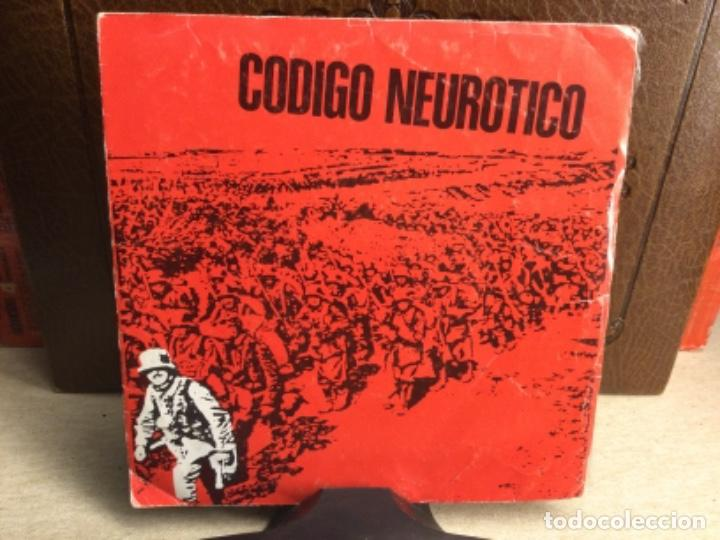 CODIGO NEUROTICO - TOTUS TOUS + 4 - EP DDOMESTIC RECORDS 1983 // 45 R.P.M.) (Música - Discos - Singles Vinilo - Punk - Hard Core)
