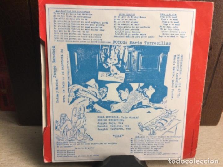 Discos de vinilo: CODIGO NEUROTICO - Totus Tous + 4 - EP DDOMESTIC RECORDS 1983 // 45 R.P.M.) - Foto 3 - 247807180
