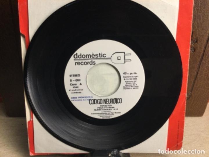 Discos de vinilo: CODIGO NEUROTICO - Totus Tous + 4 - EP DDOMESTIC RECORDS 1983 // 45 R.P.M.) - Foto 5 - 247807180