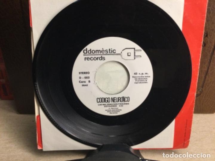 Discos de vinilo: CODIGO NEUROTICO - Totus Tous + 4 - EP DDOMESTIC RECORDS 1983 // 45 R.P.M.) - Foto 6 - 247807180