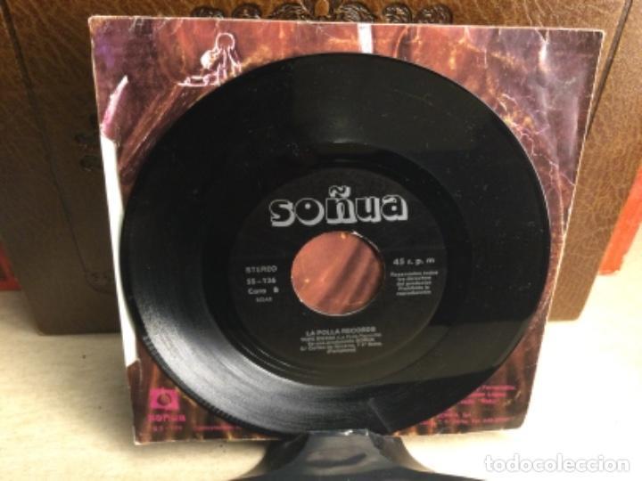 Discos de vinilo: LA POLLA RECORDS - SALVE - VENGANZA / PORNO EN ACCION / TOPE BWANA - SINGLE ( 45 R.P.M.) - Foto 4 - 247808165