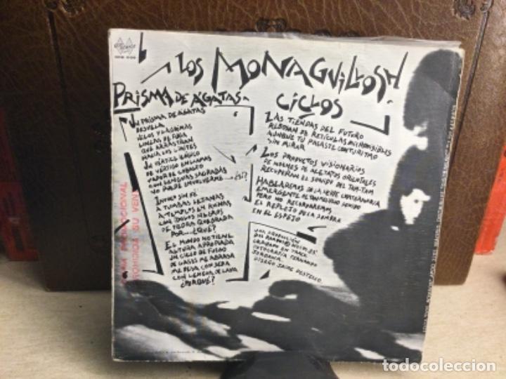 Discos de vinilo: LOS MONAGUILLOSH: PRISMA DE AGATAS/ CICLOS - SINGLE, DOS ROMBOS. 1983 ( 45 R.P.M.) - Foto 2 - 247810765