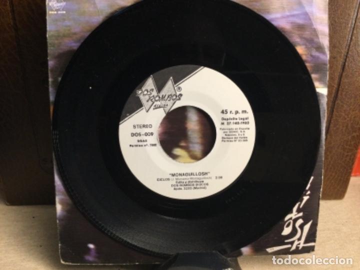 Discos de vinilo: LOS MONAGUILLOSH: PRISMA DE AGATAS/ CICLOS - SINGLE, DOS ROMBOS. 1983 ( 45 R.P.M.) - Foto 4 - 247810765