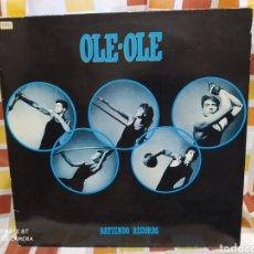 Discos de vinilo: OLE OLE–BATIENDO RECORDS. MAXI VINILO 1984. BUEN ESTADO. Lote 247921500
