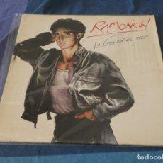 Discos de vinilo: EXPRO LP RAMONCIN LA VIDA EN EL FILO MUUUUUUCHA TRALLA A TU RIESGO CREO QUE NO RAYONES FATALES. Lote 247934650
