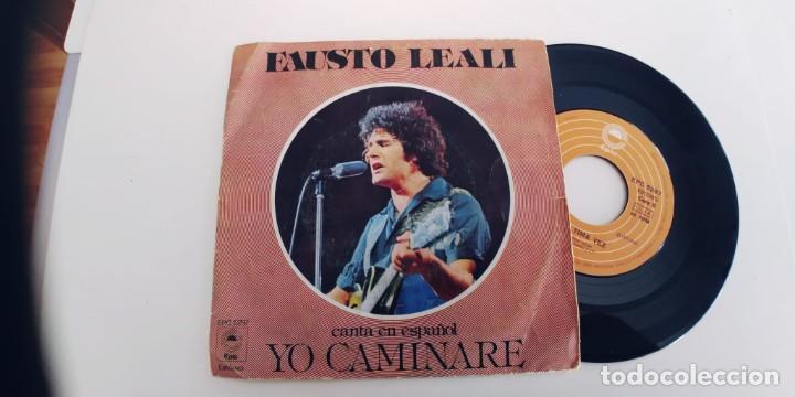 FAUSTO LEALI-SINGLE YO CAMINARE-EN ESPAÑOL (Música - Discos - Singles Vinilo - Canción Francesa e Italiana)
