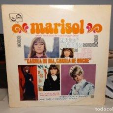 Discos de vinilo: LP MARISOL : CAROLA DE DIA, CAROLA DE NOCHE ( CONTIENE UNA CANCION INTERPRETADA POR VAINICA DOBLE ). Lote 247955290