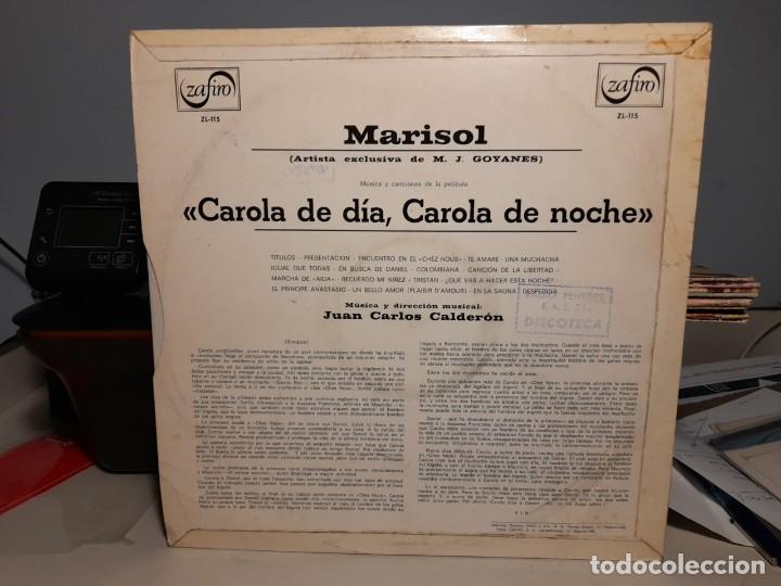 Discos de vinilo: LP MARISOL : CAROLA DE DIA, CAROLA DE NOCHE ( CONTIENE UNA CANCION INTERPRETADA POR VAINICA DOBLE ) - Foto 2 - 247955290