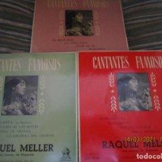 Discos de vinil: RAQUEL MELLER - 3 EP´S ORIGINAL ESPAÑOLES - ODEON RECORDS 1955-1957 - MONO - MUY BUEN ESTADO (4). Lote 247957845