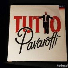 Discos de vinilo: DISCO DOBLE LP- TUTTO PAVAROTTI --AÑO 1989-CON ENCARTE. Lote 248014815