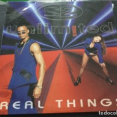 Discos de vinilo: UNLIMITED - REAL THINGS. Lote 248020010