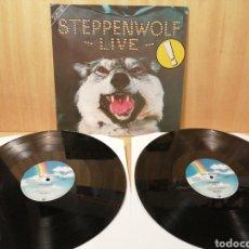 Discos de vinilo: STEPPENWOLF. LIVE. 2 LPS. GATEFOLD.. Lote 248024825