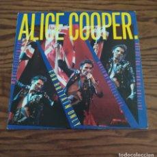 Discos de vinilo: MUY RARO. DISCO LP MAXI SINGLES DE VINILO 1982 ALICE COOPER: FOR BRITAIN ONLY. Lote 248027950