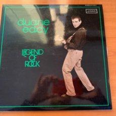 Discos de vinilo: DUANE- EDDY - LEGEND OF ROCK. Lote 248037395