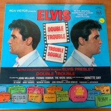 Discos de vinilo: ELVIS - DOUBLE TROUBLE. Lote 248042105