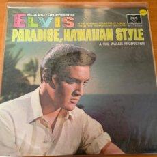Discos de vinilo: ELVIS PRESLEY - PARADISE, HAWAIAAN STYLE. Lote 248042650