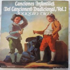 Discos de vinilo: JOAQUÍN DÍAZ, CANCIONES INFANTILES VOL 2. LP ORIGINAL DEL AÑO 1972 CON PORTADA DOBLE. Lote 248044635