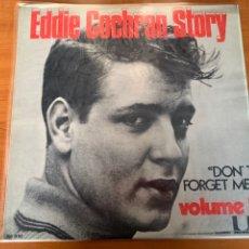 Discos de vinilo: EDDIE COCHRAN - STORY DON'T FORGET ME. Lote 248045600