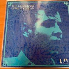Discos de vinilo: EDDIE COCHRAN - THE LEGENDARY. Lote 248046055