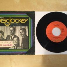 """Discos de vinilo: KRAFTWERK - LOS MANIQUIES (THE MODEL) - RADIO SINGLE 7"""" - 1977 ESPAÑA. Lote 248050280"""