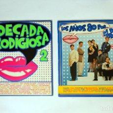 Discos de vinilo: LA DECADA PRODIGIOSA. 2 (SOLO EL PRIMER DISCO DE LA FOTO). Lote 248052585