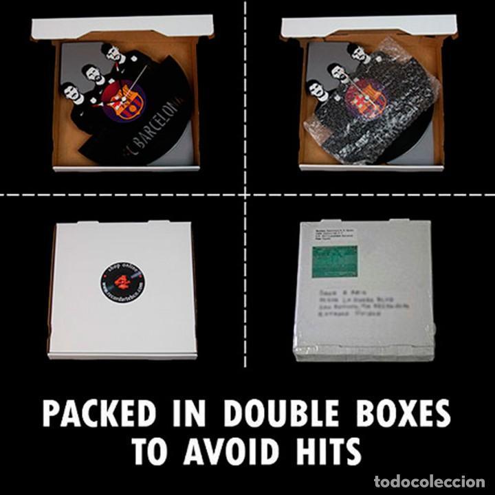 Discos de vinilo: Reloj de Disco LP de Johnny Hallyday - Foto 2 - 248054895
