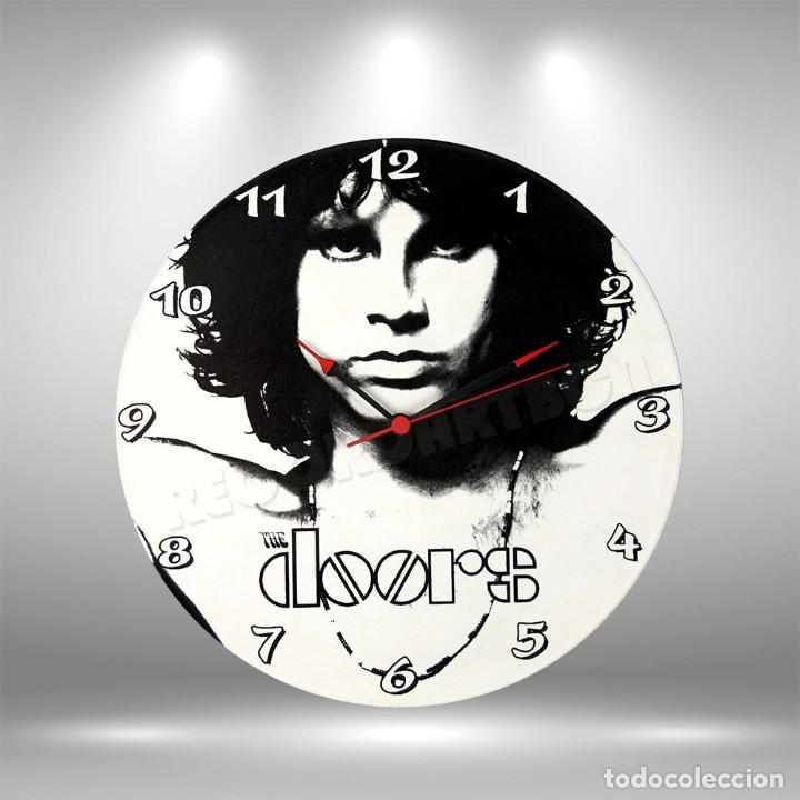 RELOJ DE DISCO LP DE THE DOORS (Música - Discos de Vinilo - EPs - Rock & Roll)