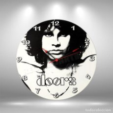 Discos de vinilo: RELOJ DE DISCO LP DE THE DOORS. Lote 248057460
