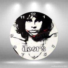 Discos de vinilo: RELOJ DE DISCO LP DE THE DOORS. Lote 248057460