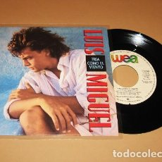 Discos de vinilo: LUIS MIGUEL - FRIA COMO EL VIENTO - PROMO SINGLE - 1989 - NUEVO. Lote 248060875