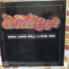 Discos de vinilo: THE WATERBOYS–HOW LONG WILL I LOVE YOU . MAXI VINILO BUEN ESTADO. Lote 248063985