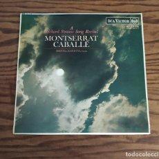Discos de vinilo: DISCO LP DE VINILO 1967 MONTSERRAT CABALLÉ: A RICHARD STRAUSS SONG RECITAL, PIANISTA MIGUEL ZANETTI. Lote 248075055