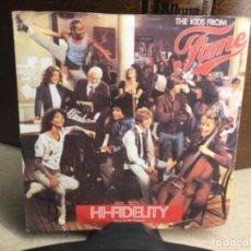 Discos de vinilo: FAME (LOS CHICOS DE FAMA) BSO DE LA SERIE DE TV: FAMA. 1982 RCA ( 45 R.P.M.). Lote 248078865