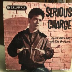 Discos de vinilo: SERIOUS CHARGE - CLIFF RICHARD AND THE DRIFTERS ( 45 R.P.M.). Lote 248080465