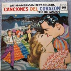 Disques de vinyle: TRÍO LOS PANCHOS - CANCIONES DEL CORAZÓN - LP. Lote 248097870