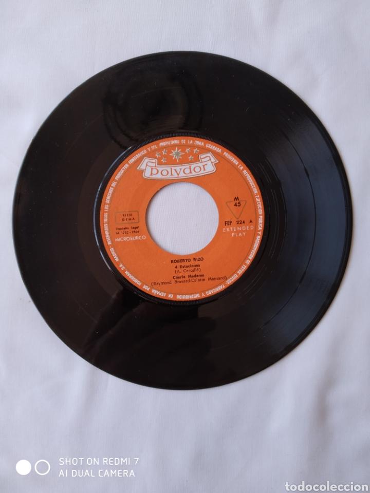 Discos de vinilo: Roberto Rizo 4 estaciones EP VG+ - Foto 3 - 248134710