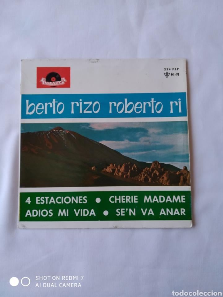 ROBERTO RIZO 4 ESTACIONES EP VG+ (Música - Discos de Vinilo - EPs - Solistas Españoles de los 50 y 60)