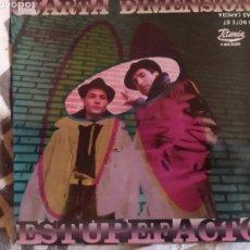 Discos de vinilo: CUARTA DIMENSION. ESTUPEFACTO. MAXI VINILO 1989. PERFECTO ESTADO. Lote 248137085