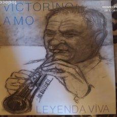 Discos de vinilo: VICTORINO AMO -LEYENDA VIVA. LP VINILO PERFECTO ESTADO - FOLK DULZAINA. Lote 248140305