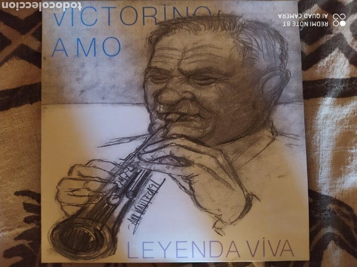 Discos de vinilo: Victorino Amo -Leyenda Viva. LP vinilo perfecto estado - Folk dulzaina - - Foto 2 - 248140305